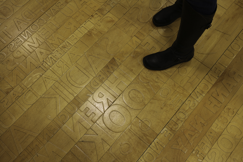 Seattle Public Library Floor