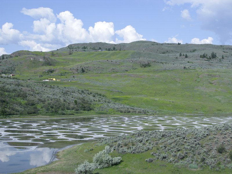 Approach to Spotted Lake
