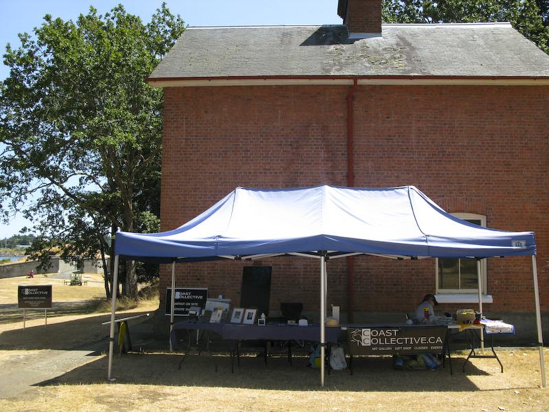 Fort Rodd Hill CC AIR set up