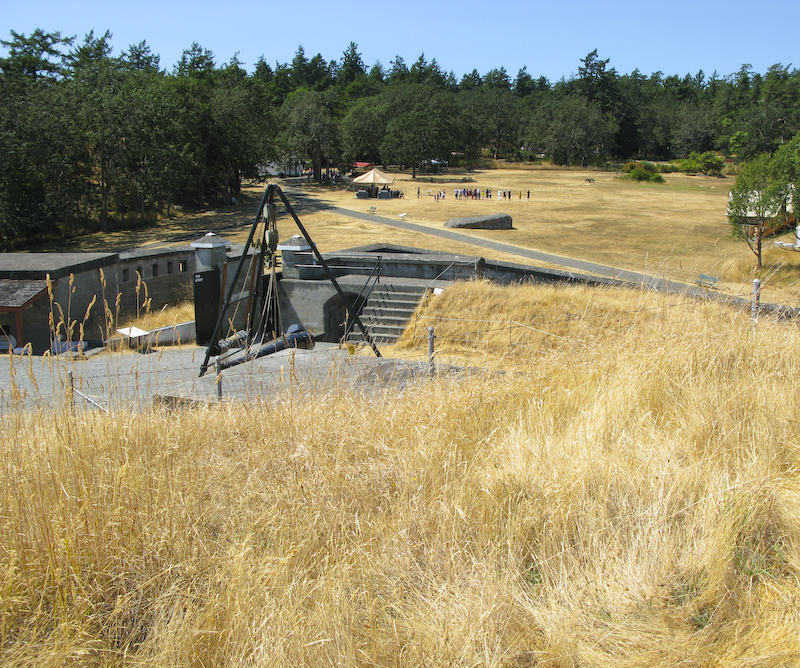 Fort Rod Hill Field shot