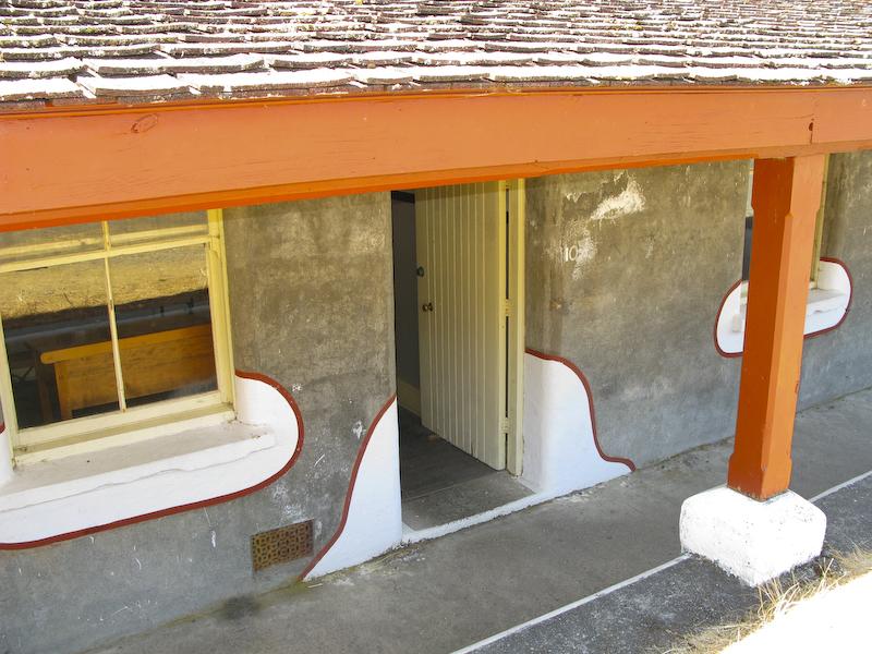 Fort Rod Hill exterior door