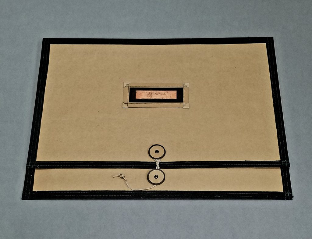 Cover of Artist's Book titled Field Notes 2013